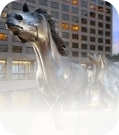 Horse Statue in Irving Texas