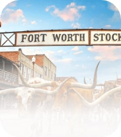 Fort Worth Texas Stock Sign